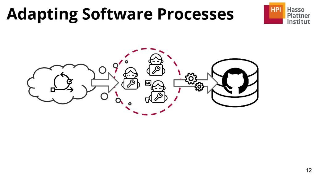 Adapting Software Processes 12