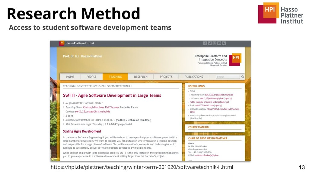 Research Method 13 Access to student software d...