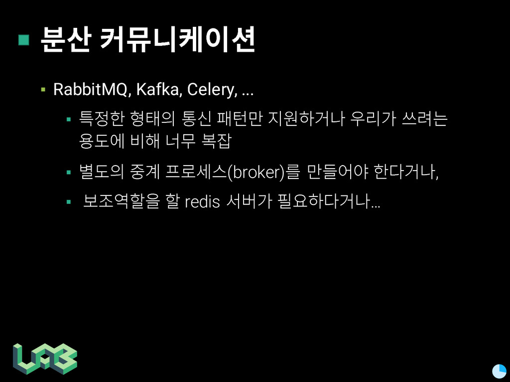 쭒칾 쥲삖핂켦 ▪ RabbitMQ, Kafka, Celery, ... ▪ 헣 픦...