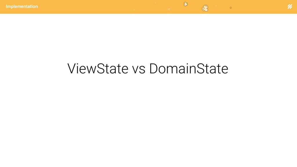 Page heading Implementation ViewState vs Domain...