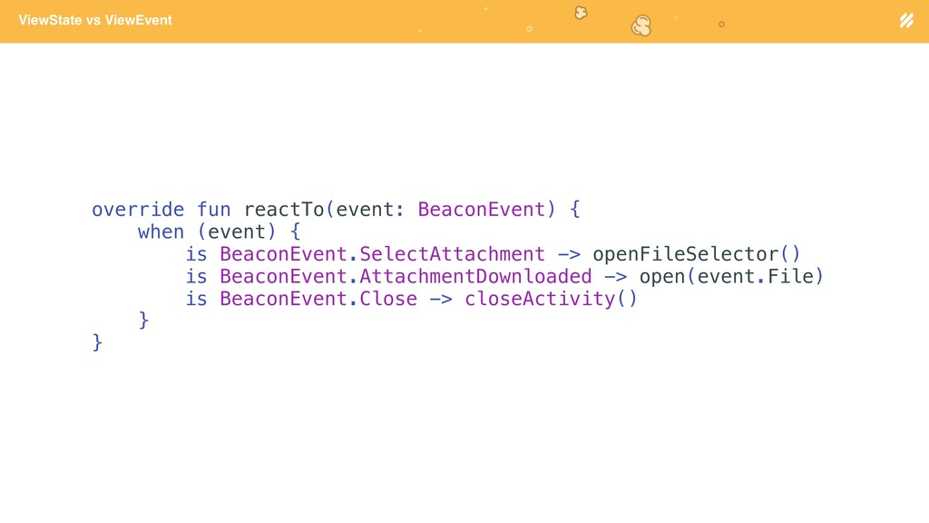 Page heading ViewState vs ViewEvent override fu...