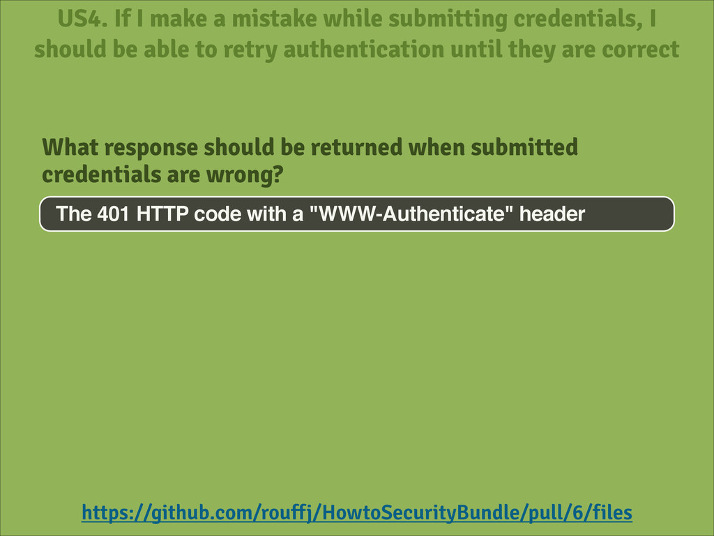 US4. If I make a mistake while submitting crede...