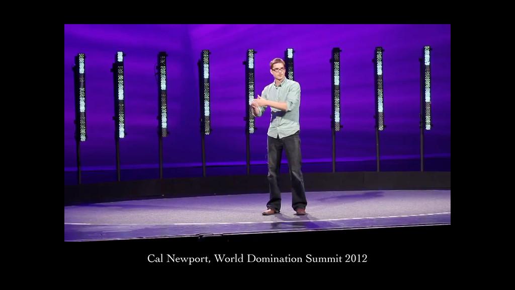 Video of Cal Newport Cal Newport, World Dominat...