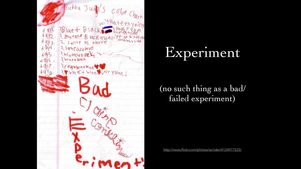 Experiment http://www.flickr.com/photos/acrider...