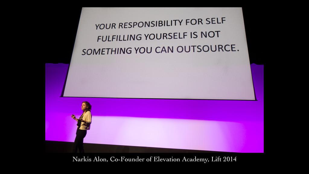 Narkis Narkis Alon, Co-Founder of Elevation Aca...