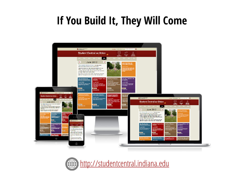 If You Build It, They Will Come http://studentc...