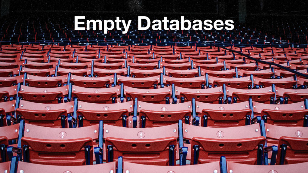 Empty Databases