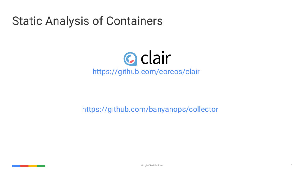 6 Google Cloud Platform Static Analysis of Cont...