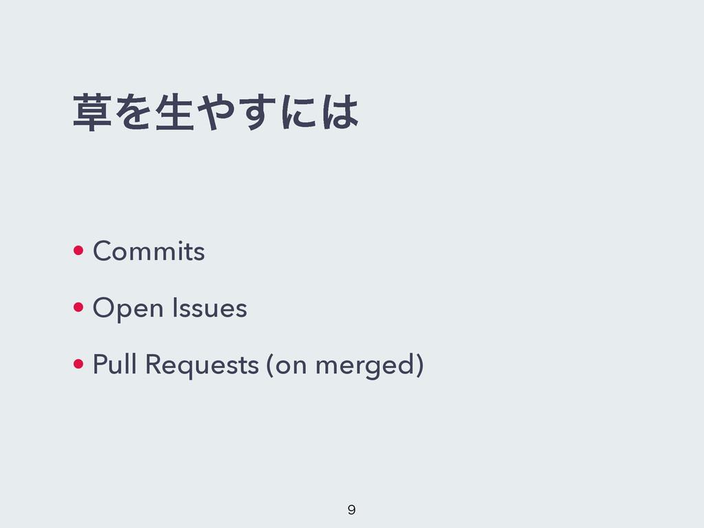 Λੜ͢ʹ • Commits • Open Issues • Pull Requests...