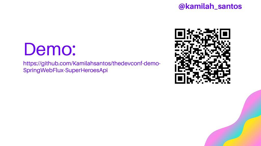Demo: https://github.com/Kamilahsantos/thedevco...