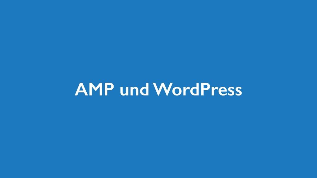 AMP und WordPress