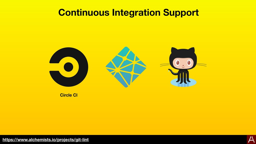 Continuous Integration Support https://www.alch...