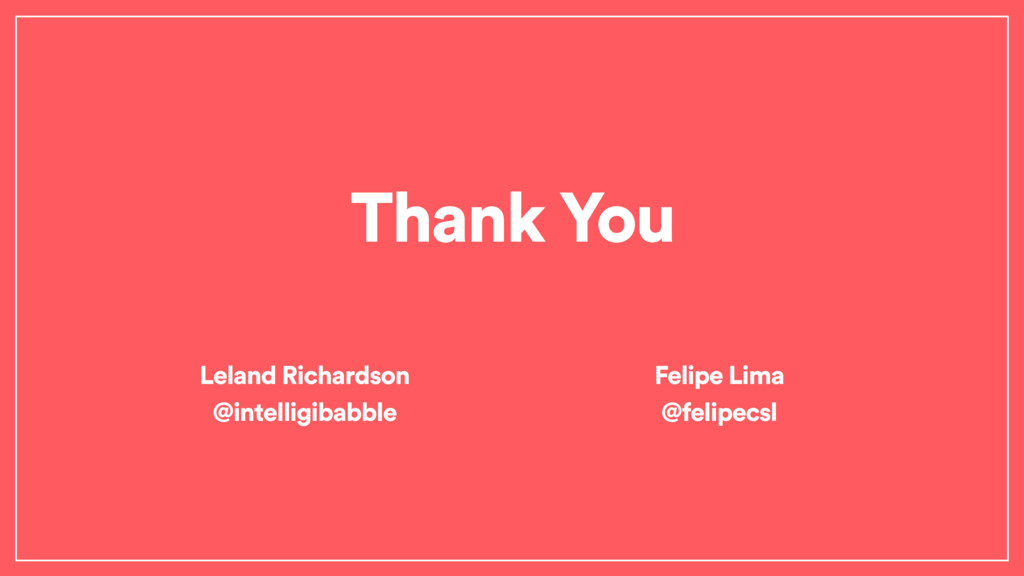Thank You Leland Richardson @intelligibabble Fe...