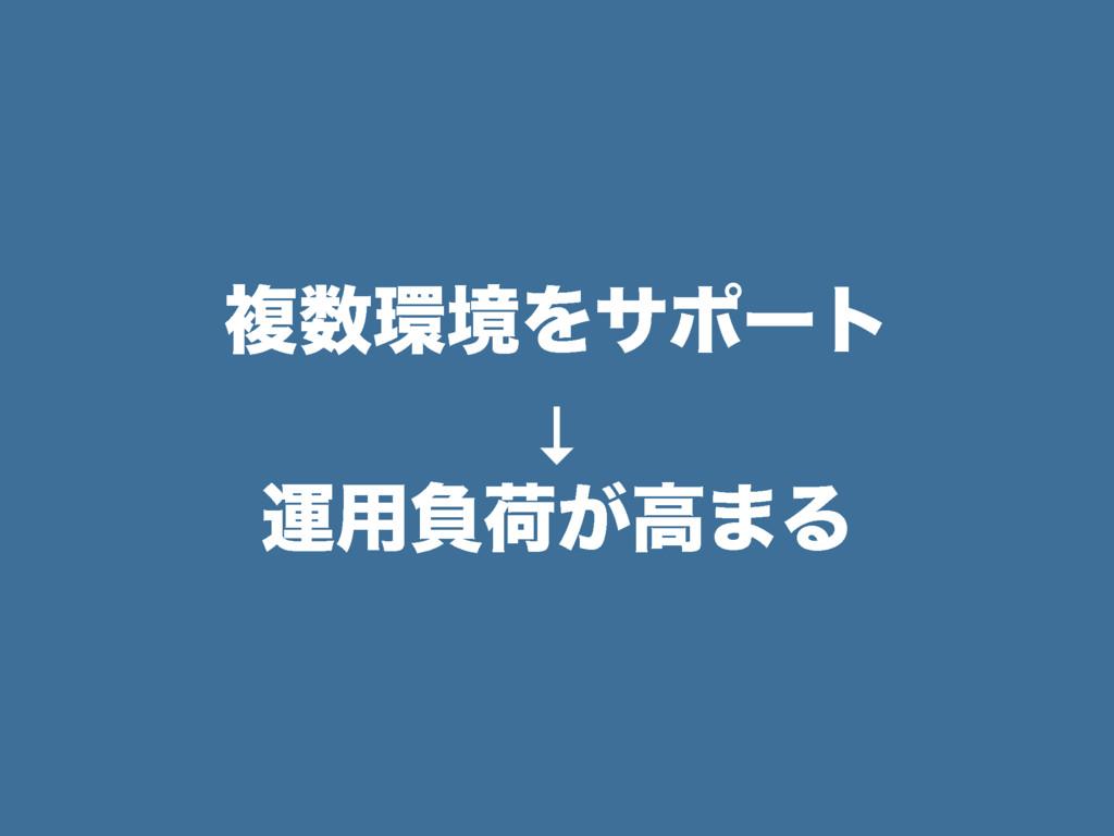 ෳڥΛαϙʔτ ↓ ӡ༻ෛՙ͕ߴ·Δ