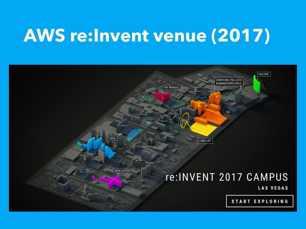 AWS re:Invent venue (2017)