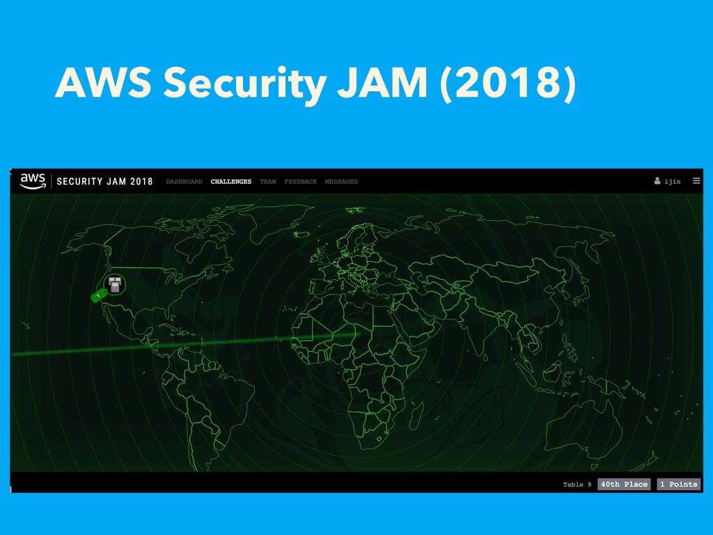 AWS Security JAM (2018)