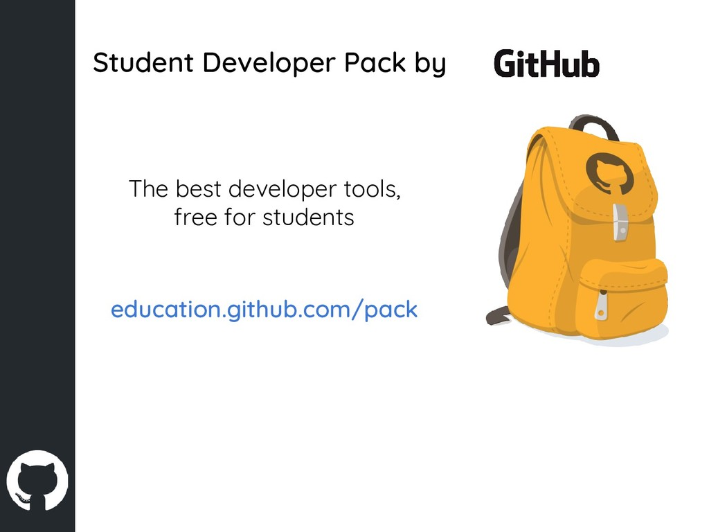 Student Developer Pack by The best developer to...