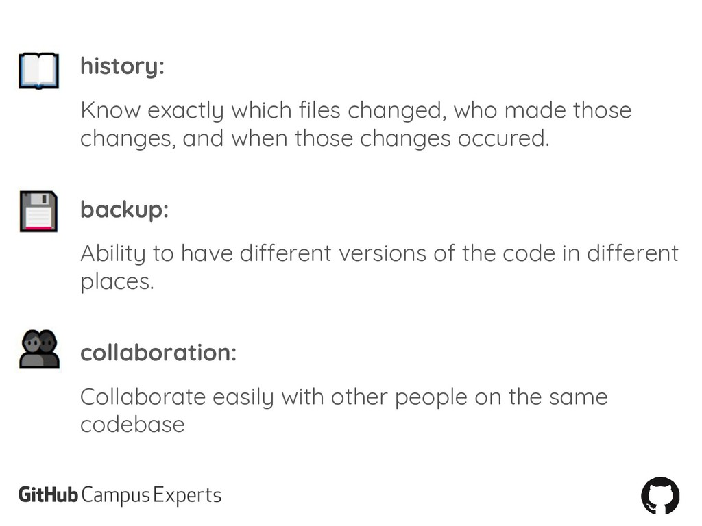 history: Know exactly which files changed, who ...