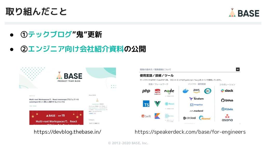 © 2012-2019 BASE, Inc. © 2012-2020 BASE, Inc. 取...