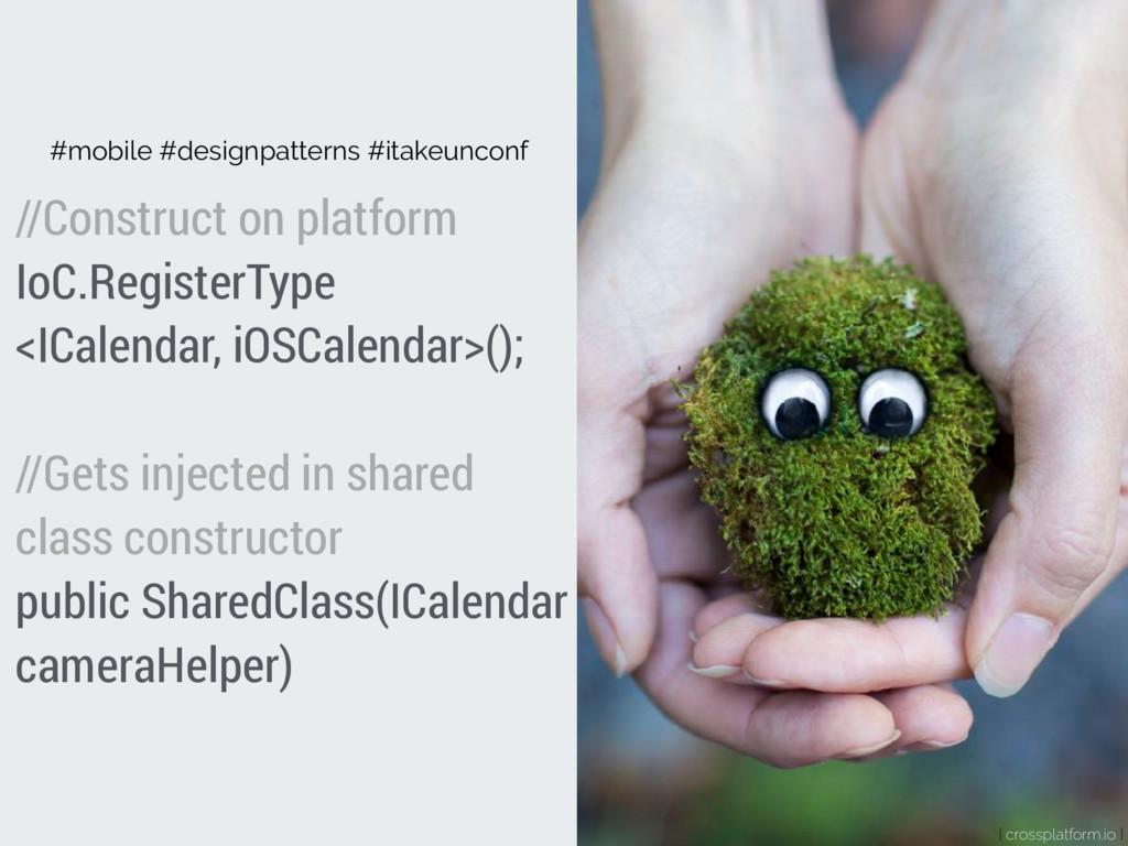 { crossplatform.io } #mobile #designpatterns #i...