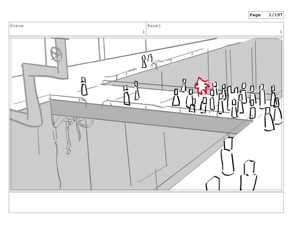 Scene 1 Panel 1 Page 1/197