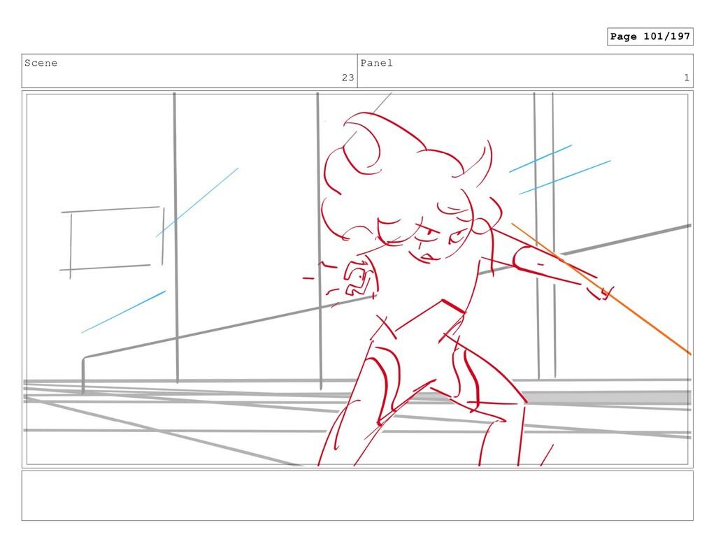 Scene 23 Panel 1 Page 101/197