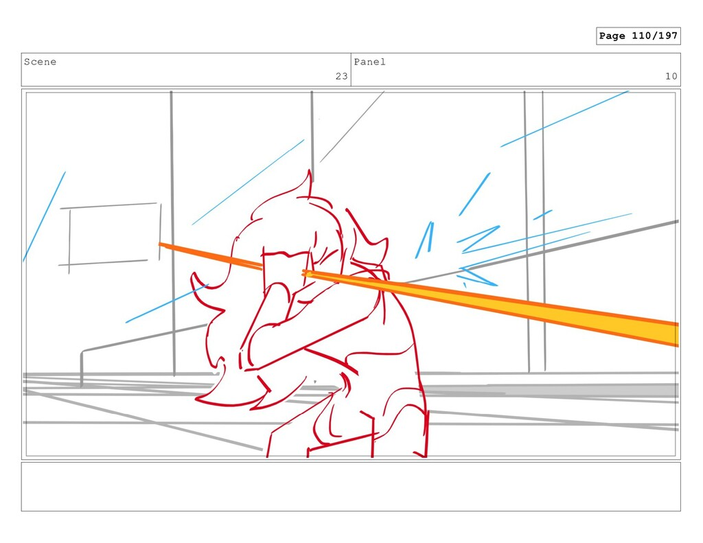 Scene 23 Panel 10 Page 110/197