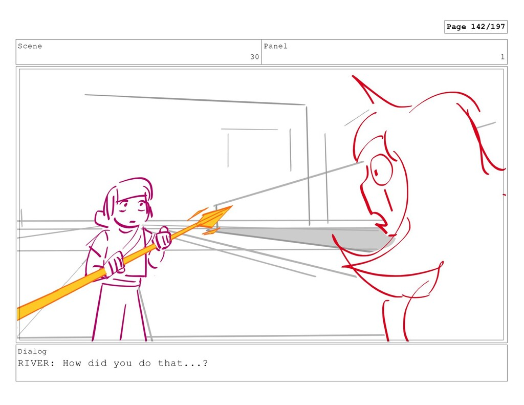 Scene 30 Panel 1 Dialog RIVER: How did you do t...