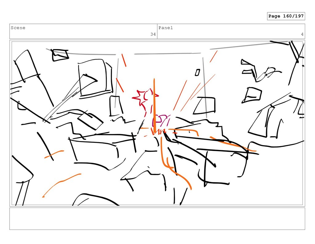 Scene 34 Panel 4 Page 160/197