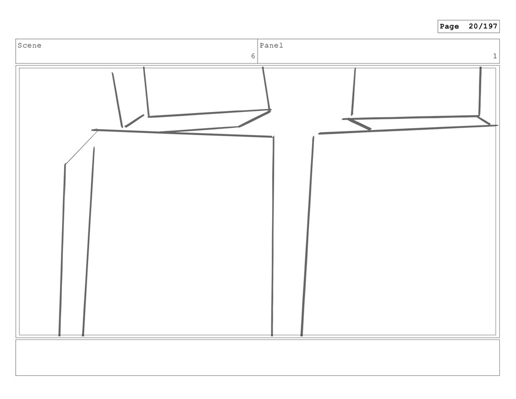 Scene 6 Panel 1 Page 20/197