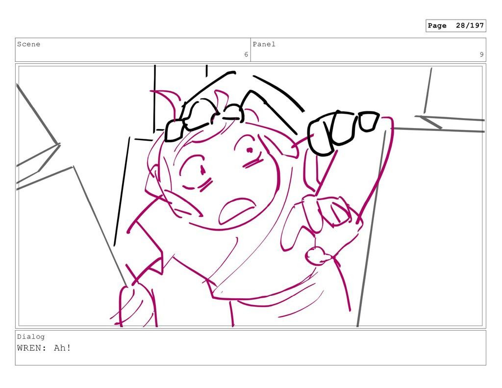Scene 6 Panel 9 Dialog WREN: Ah! Page 28/197