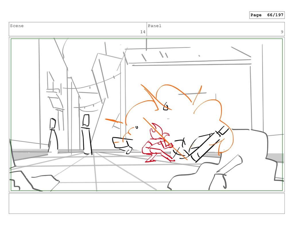 Scene 14 Panel 9 Page 66/197