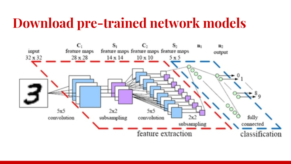 Download pre-trained network models