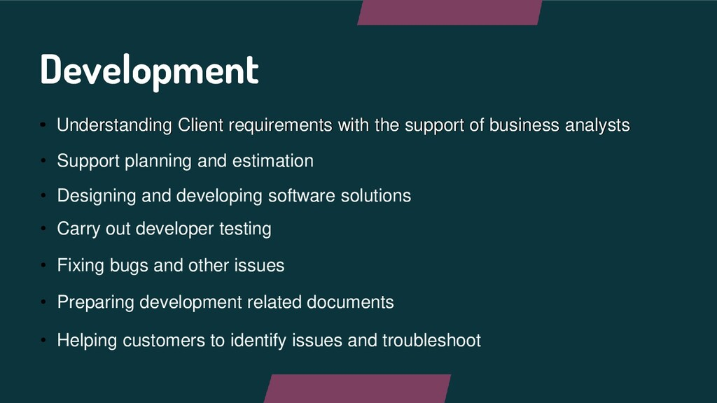 • Understanding Client requirements with the su...