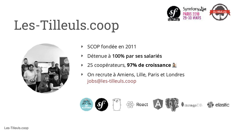Les-Tilleuls.coop Les-Tilleuls.coop SCOP fondée...