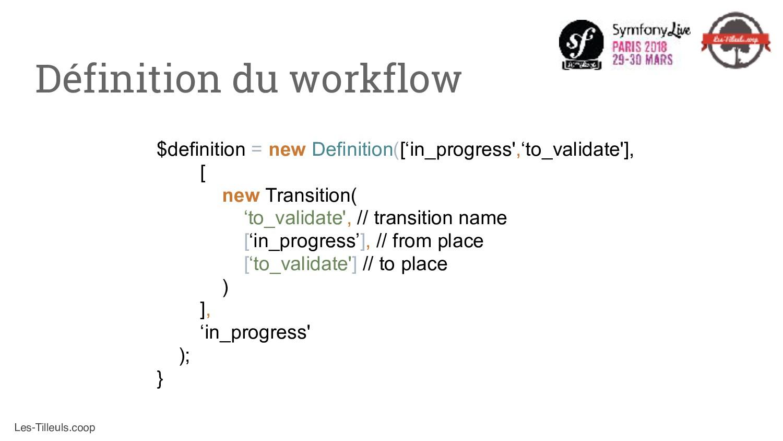 Les-Tilleuls.coop $definition = new Definition(...