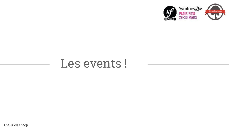 Les-Tilleuls.coop Les events !