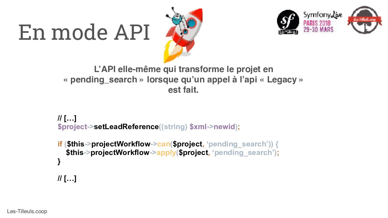 Les-Tilleuls.coop L'API elle-même qui transform...
