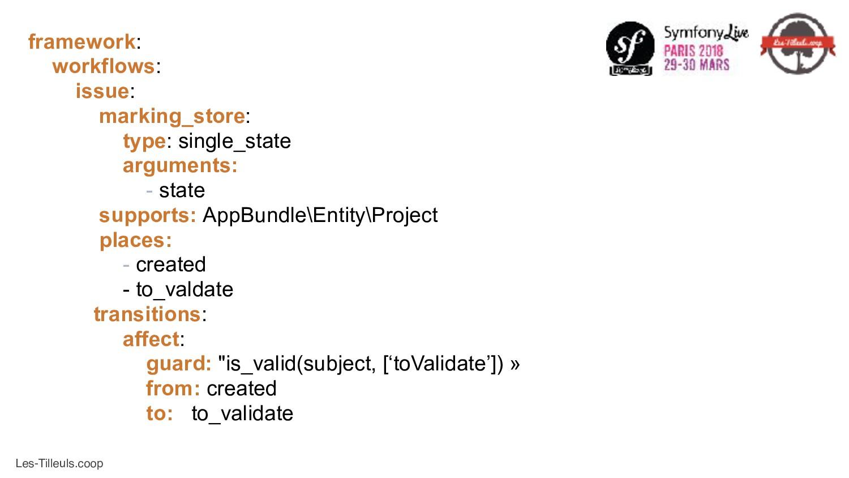 Les-Tilleuls.coop framework: workflows: issue: ...