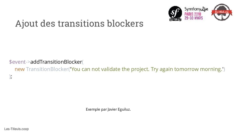 Les-Tilleuls.coop Ajout des transitions blocker...