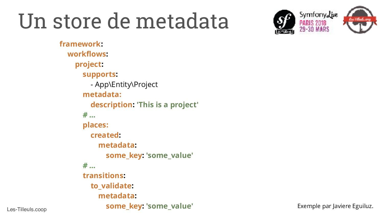 Les-Tilleuls.coop Un store de metadata framewor...