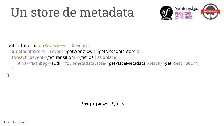 Les-Tilleuls.coop Un store de metadata public f...