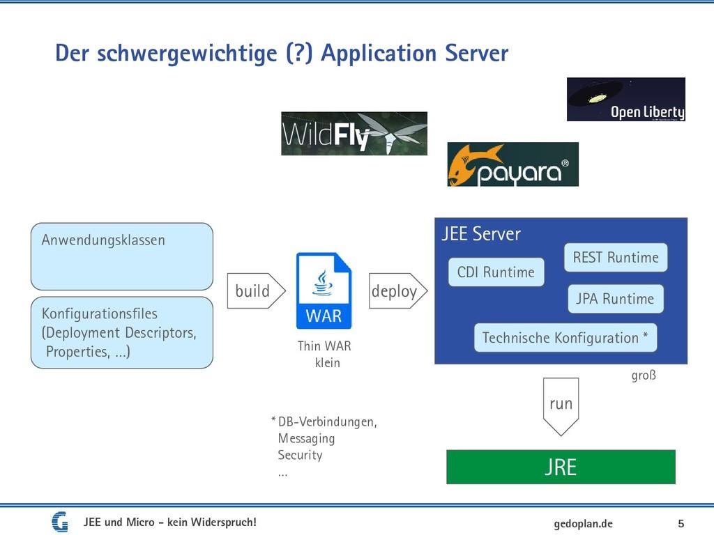Der schwergewichtige (?) Application Server 5 A...
