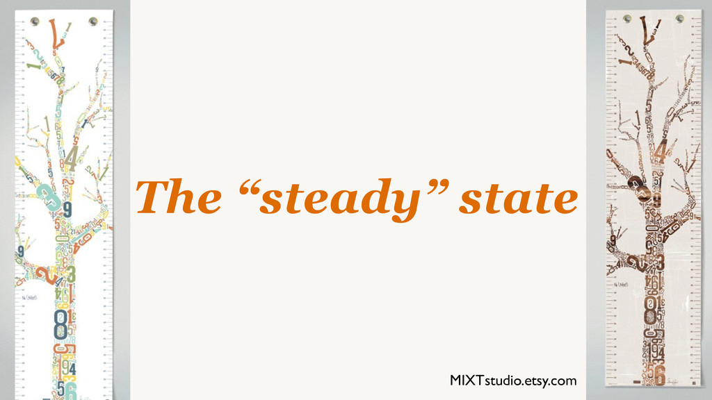 """The """"steady"""" state MIXTstudio.etsy.com"""