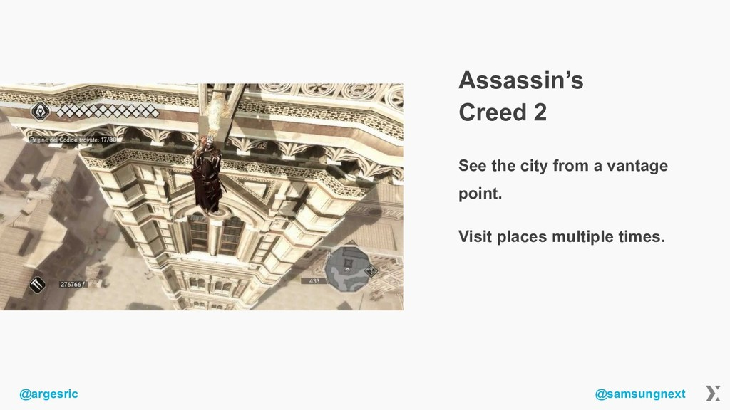 @argesric @samsungnext Assassin's Creed 2 See t...