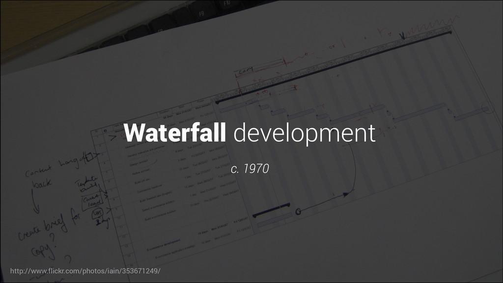 Waterfall development c. 1970 http://www.flickr...