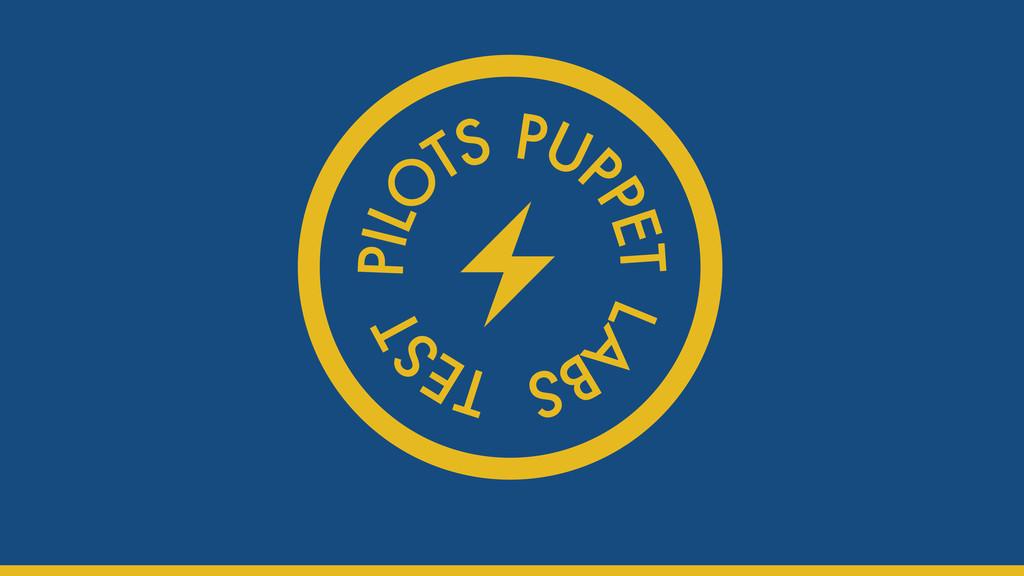 Test pilots logo Gareth Rushgrove