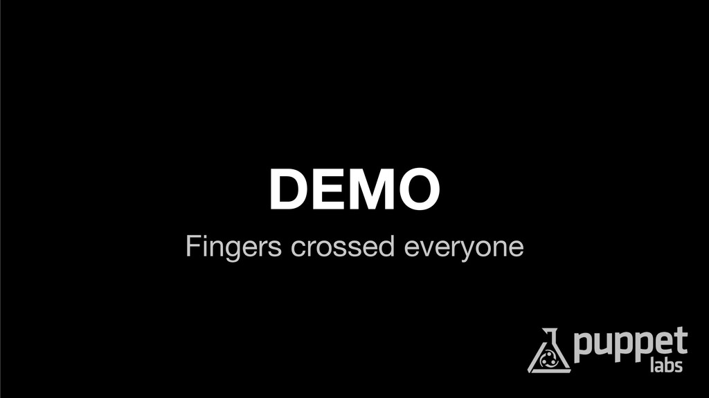 DEMO Fingers crossed everyone