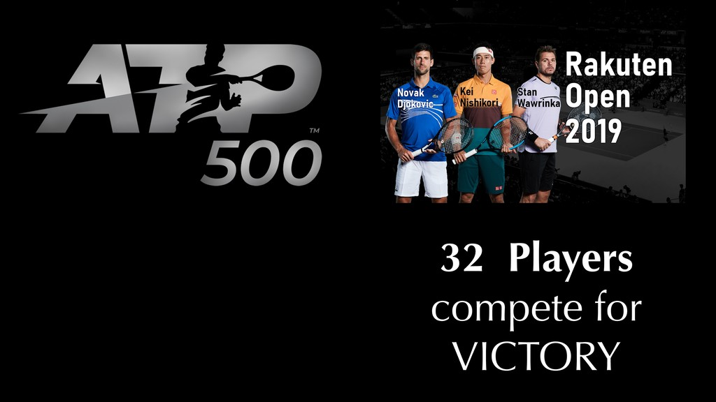 32 Players compete for VICTORY