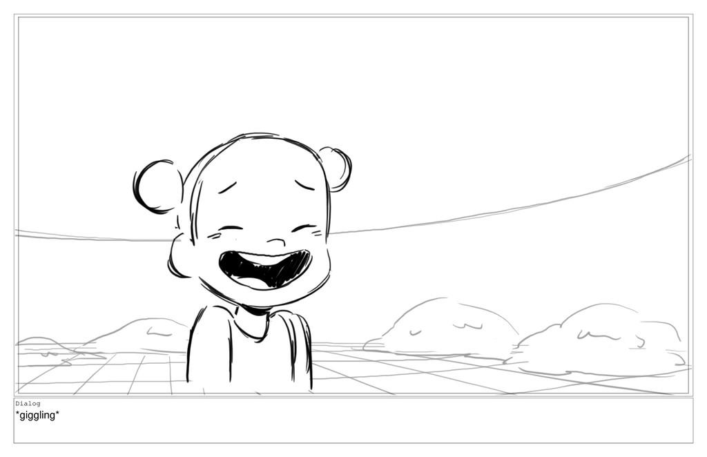 Dialog *giggling*